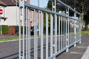Pedestrian Guardrails | High Visibility Guardrails | Pedestrian Guardrail Systems